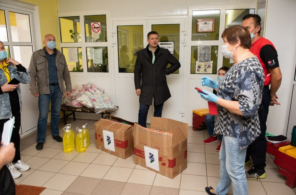 Григорий Парсентьев посетил место ЧП в Скопинском районе