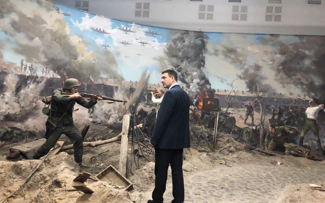 Григорий Парсентьев принял участие в открытии выставки «Без срока давности»